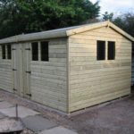 20x8 Ultimate Tanalised Apex Shed 19mm West Midlands Sheds & Summerhouses