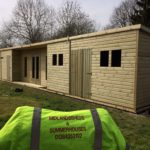 30x10 Pent Summerhouse Fully Insulated Office West Midlands Sheds & Summerhouses