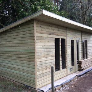 20x10 19mm Ultimate Tanalised Summerhouse 2Ft Overhang West Midlands Sheds & Summerhouses