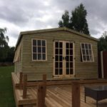 20x10 19mm Ultimate Georgian Summerhouse West Midlands Sheds & Summerhouses