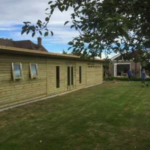 60x10 Summerhouse Fully Insulated Shed Studio West Midlands Sheds & Summerhouses