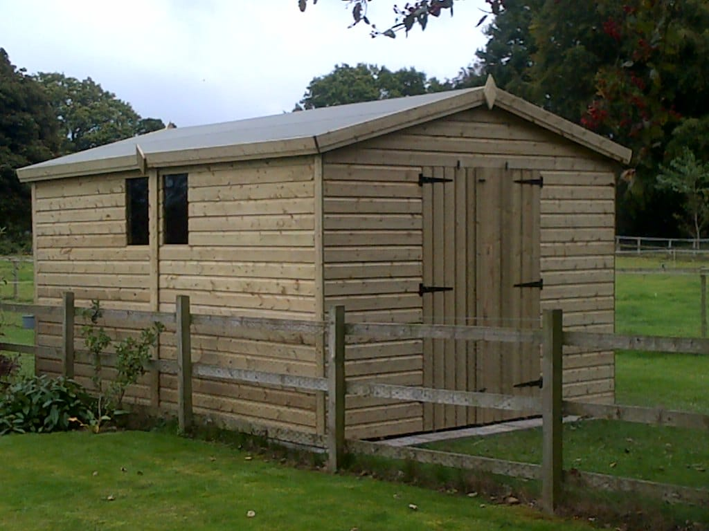 10×10 TANALISED APEX SHED West Midlands Sheds and Summerhouses