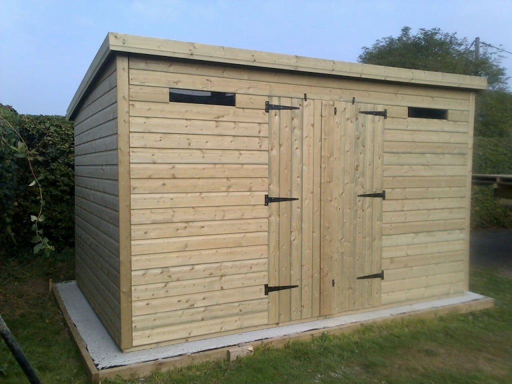 14x8 19mm Ultimate Tanalised Apex Shed 19mm West Midlands Sheds & Summerhouses