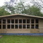 20x10 Ultimate Tanalised Long Summerhouse 19mm West Midlands Sheds & Summerhouses