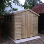 14x8 19mm Ultimate Tanalised Apex Shed West Midlands Sheds & Summerhouses