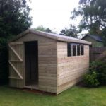 8x8 Ultimate Tanalised Apex Shed 19mm West Midlands Sheds & Summerhouses