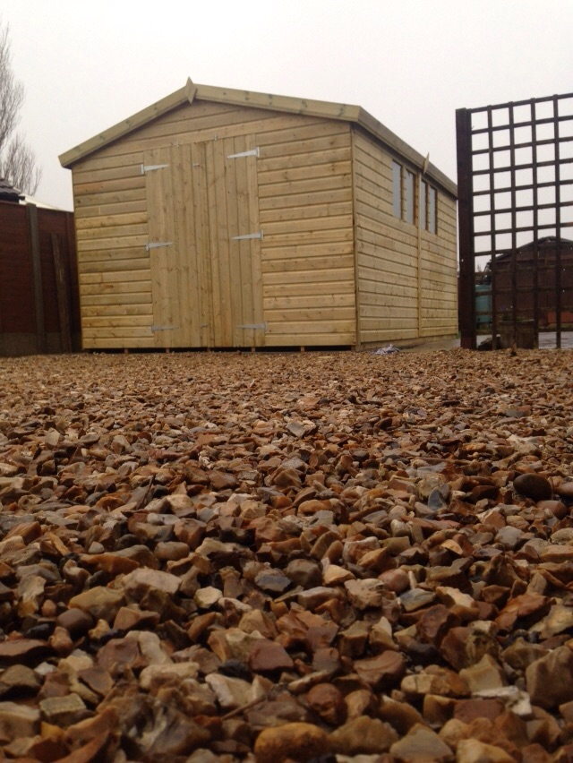 20x10 19mm Ultimate Tanalised Apex Shed West Midlands Sheds & Summerhouses