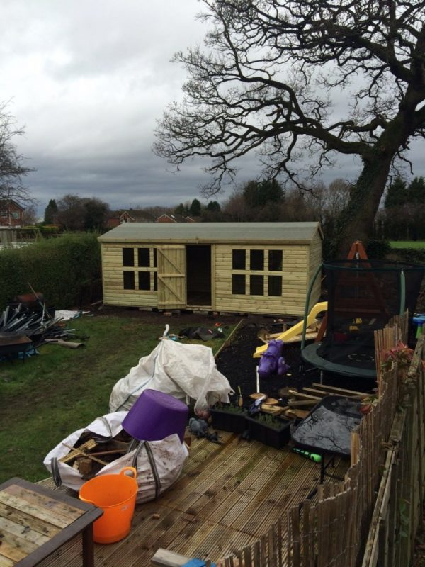 20x10 Ultimate Apex Summerhouse West Midlands Sheds & Summerhouses