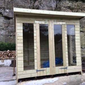 8x6 Ultimate Tanalised Summerhouse 19mm West Midlands Sheds & Summerhouses