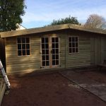 20x10 Ultimate Insulated Summerhouse Log Lap West Midlands Sheds & Summerhouses